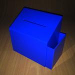 Buzón azul