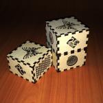 Cajas MDF Corte y grabado láser