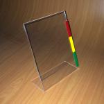 Porta gráfica tamaño carta - Aplicación