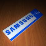 Samsung velcro