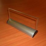 Porta gráfica con base de aluminio